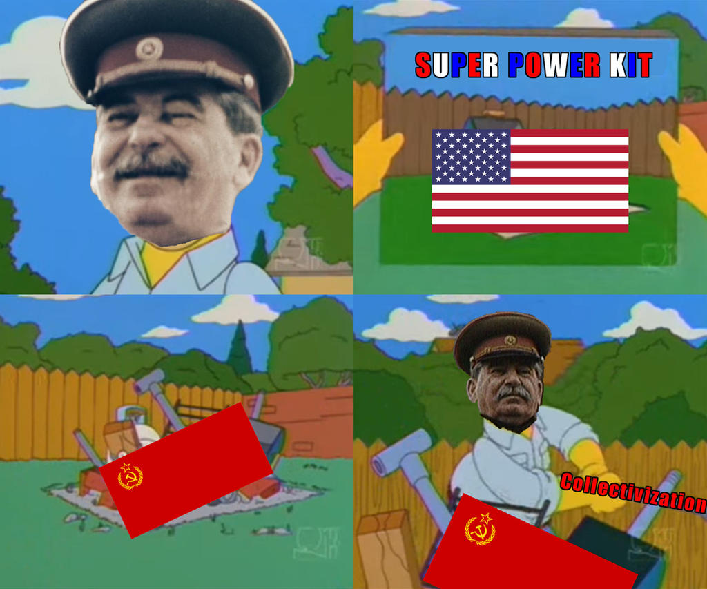 Stalin BBQ Meme by HNBBTF