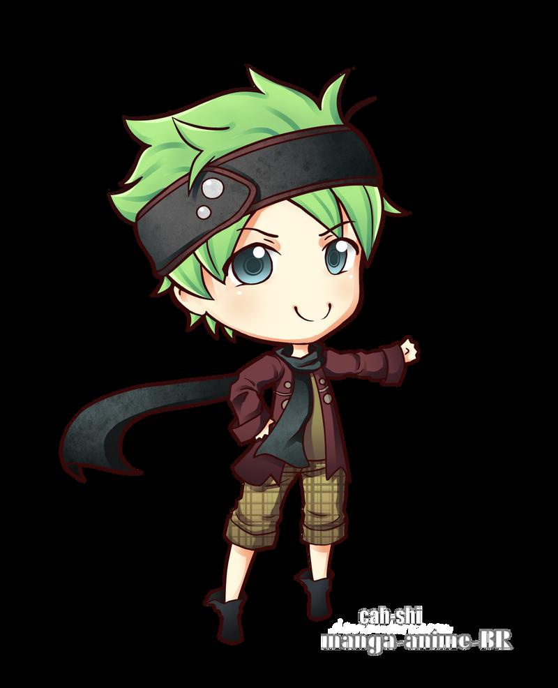 mascot - by Cah-shi