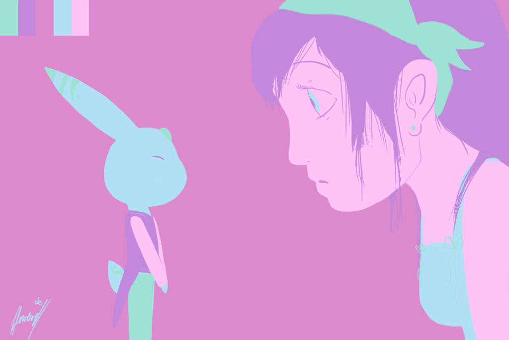 little bunny by Flowers012