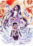 Homura's metamorphosis by dawn-alexis