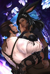 You're beautiful - FF14 Commission