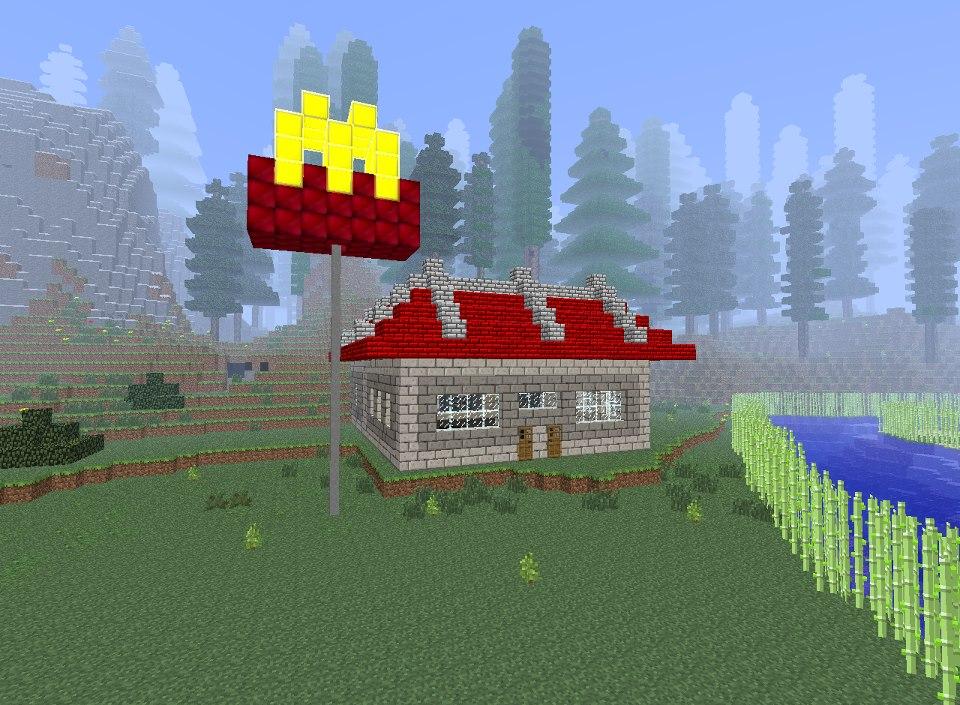 Minecraft McDonald's b...
