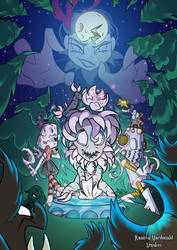 Don't Starve Magical girl trio