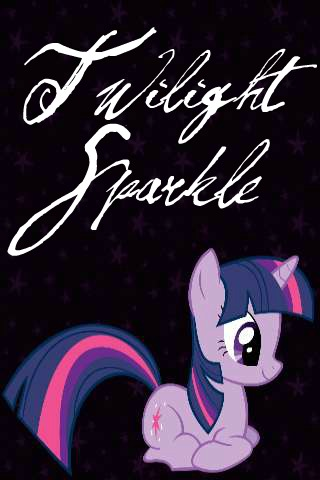 Twilight sparkle iphone background by mlponybackgrounds on - Twilight wallpaper for iphone ...