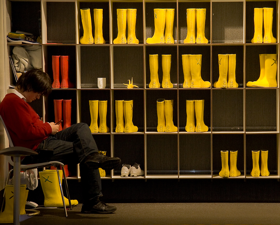 Museum - Rubber boots by schnellfahrer