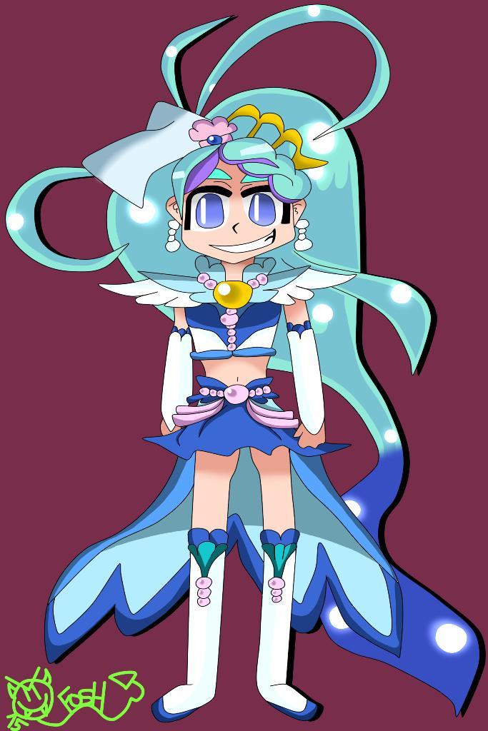 Cure Mermaid by foshizzel