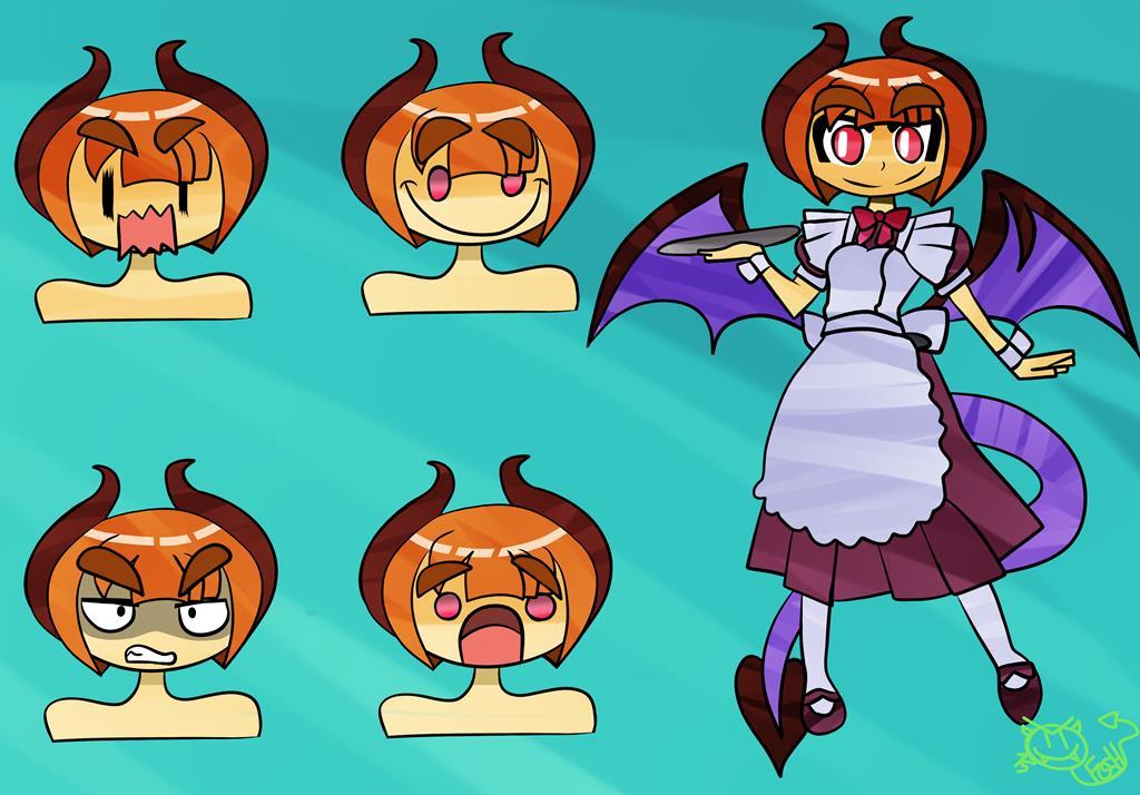 Dragon Girl by foshizzel