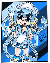 chibi squid girl