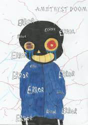 Error Sans by AmethystDOOM