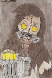 Scarecrow by AmethystDOOM