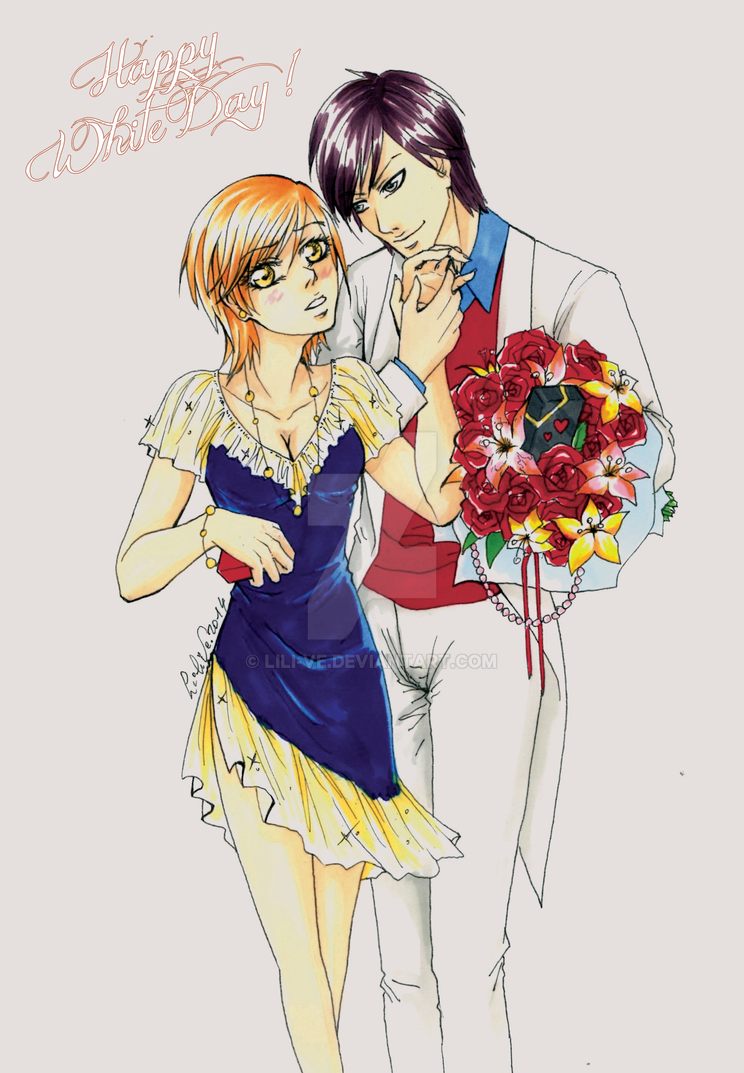 + Happy White Day Contest 2014 + by Lili-ve