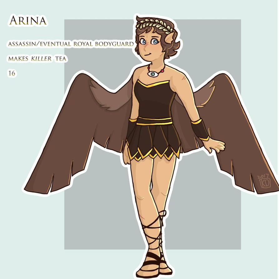 arina by KangarooDragon