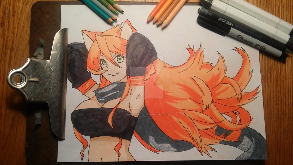 Fairy Tail: Leo/Loki (Gender bend) by ZeroKiryu11