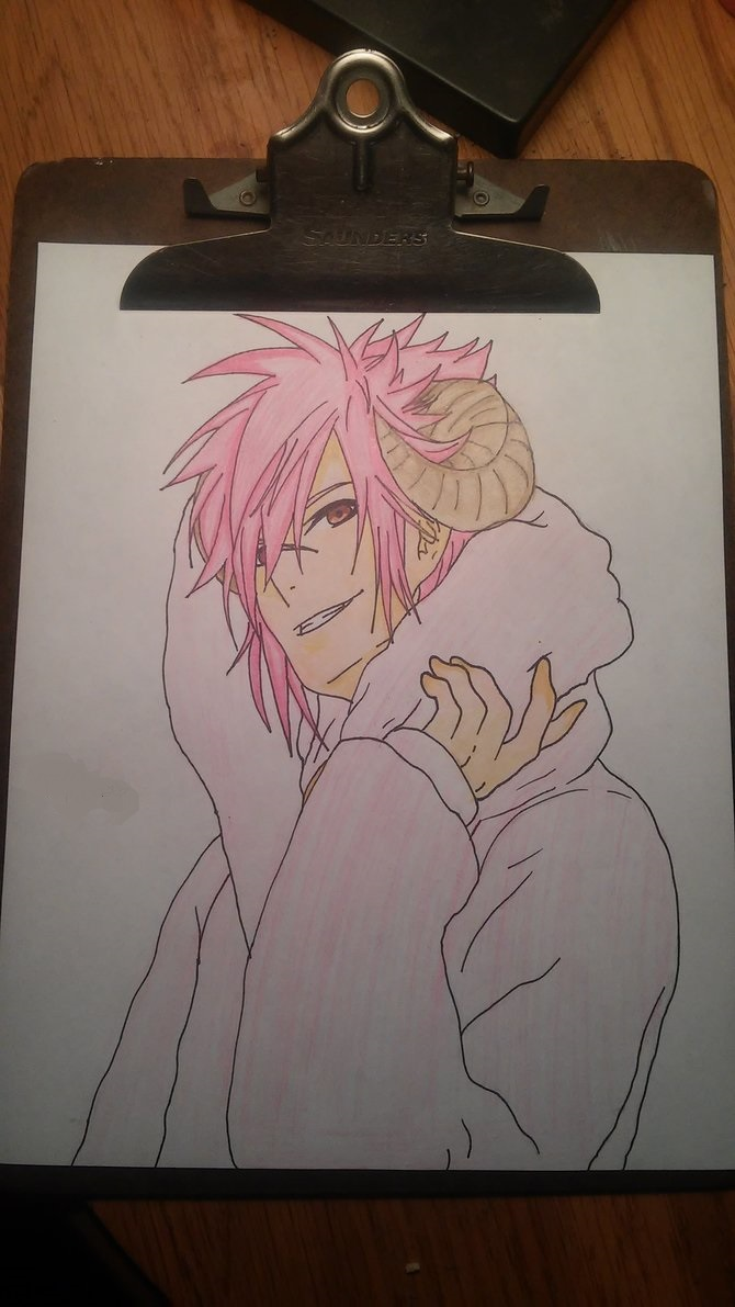 Fairy Tail: Aries (Gender bend) by ZeroKiryu11