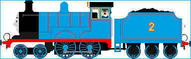 Edward The Blue Engine by Princess-Muffins