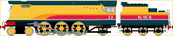 Rebecca The Big Yellow Engine