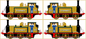 Stepney The Bluebell Engine V2