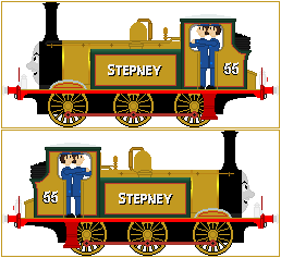 Stepney The Bluebell Engine V2 by Princess-Muffins