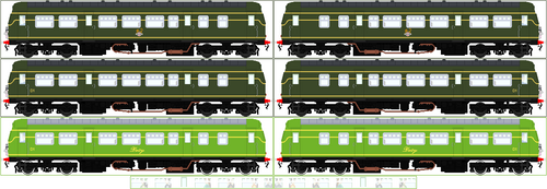 'Realistic Style' Daisy The Diesel Railcar
