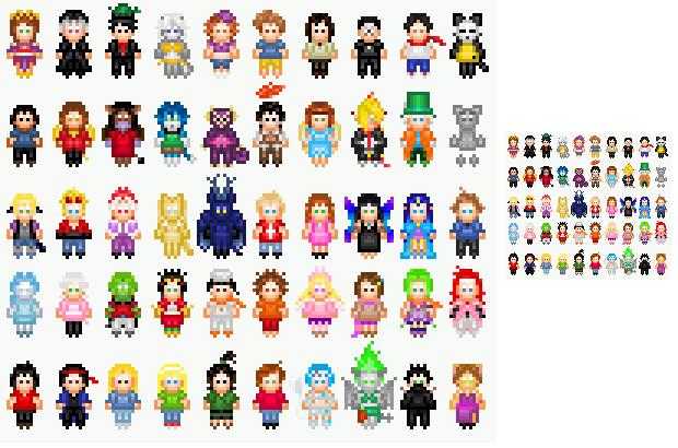 Deviantart Pixels