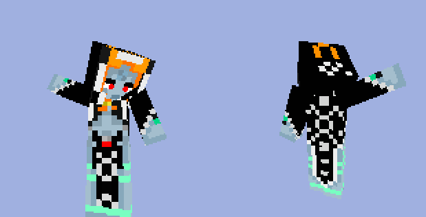 Minecraft skin Minda by Ikasama on DeviantArt