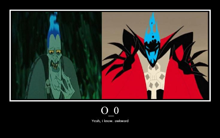 Hades and Demongo Comparison by FlargahBlargh on DeviantArt