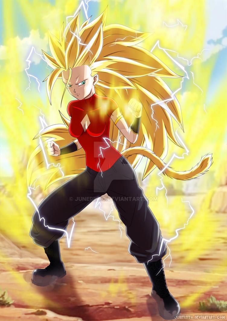 Super Saiyan 3 Kisa by JuneReito