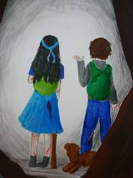 Kira and Matty by baddrawerlol