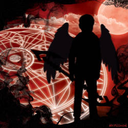 Profile Picture - Blood Moon Devil by MrAlinoe