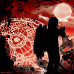 Profile Picture - Blood Moon Devil II by MrAlinoe