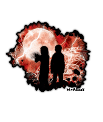 Abstract BloodMoon by MrAlinoe