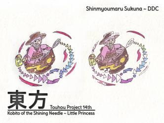 Touhou DDC 14th - Shinmyoumaru Sukuna by MrAlinoe