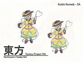 Touhou SA 11th - Koishi Komeiji by MrAlinoe