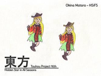Touhou HSiFS 16th - Okina Matara by MrAlinoe