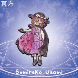 Touhou ULiL - Sumireko Usami by MrAlinoe