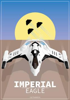 Elite Dangerous Poster - Imperial Eagle