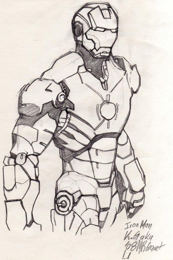 Iron Man by jacksony22