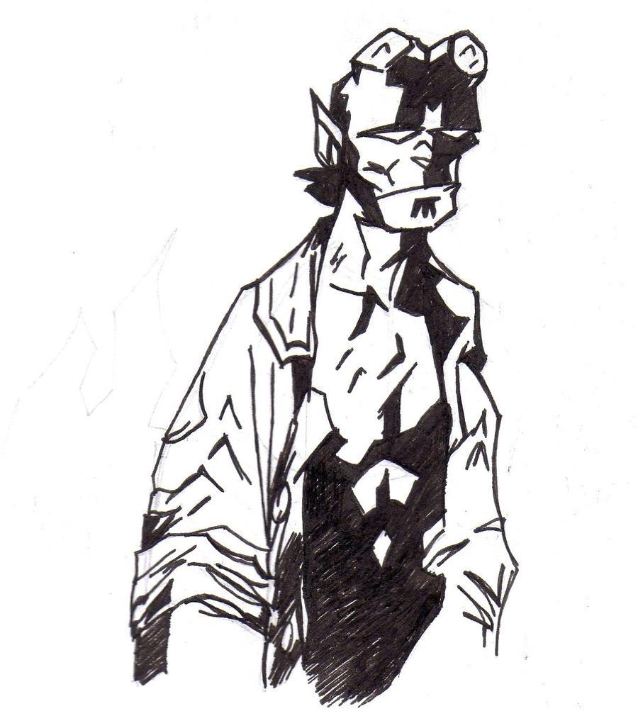 Hellboy by jacksony22