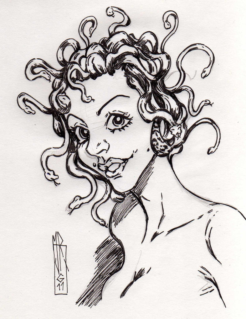 Jessy as Medusa by jacksony22