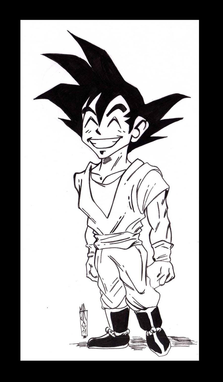 Goku by jacksony22