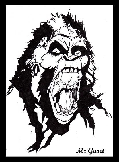 Gorilla by jacksony22