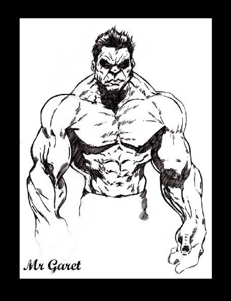 The incredible Hulk by jacksony22