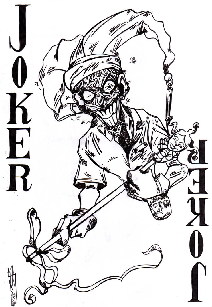 Death of the Family Joker by jacksony22