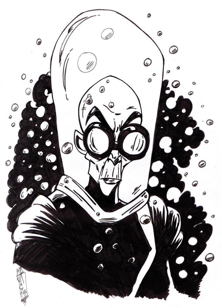 Mr Freeze by jacksony22