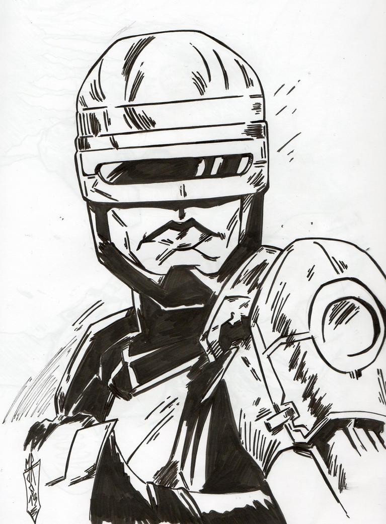 Robocop by jacksony22