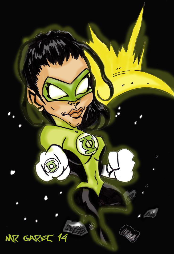 Green Lantern Missy by jacksony22