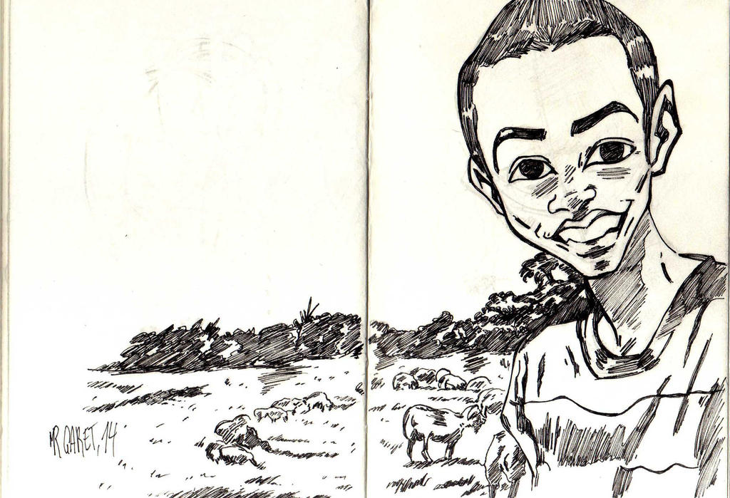 Mpolo and the sheeps by jacksony22