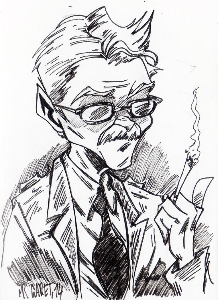 Commissioner Gordon by jacksony22
