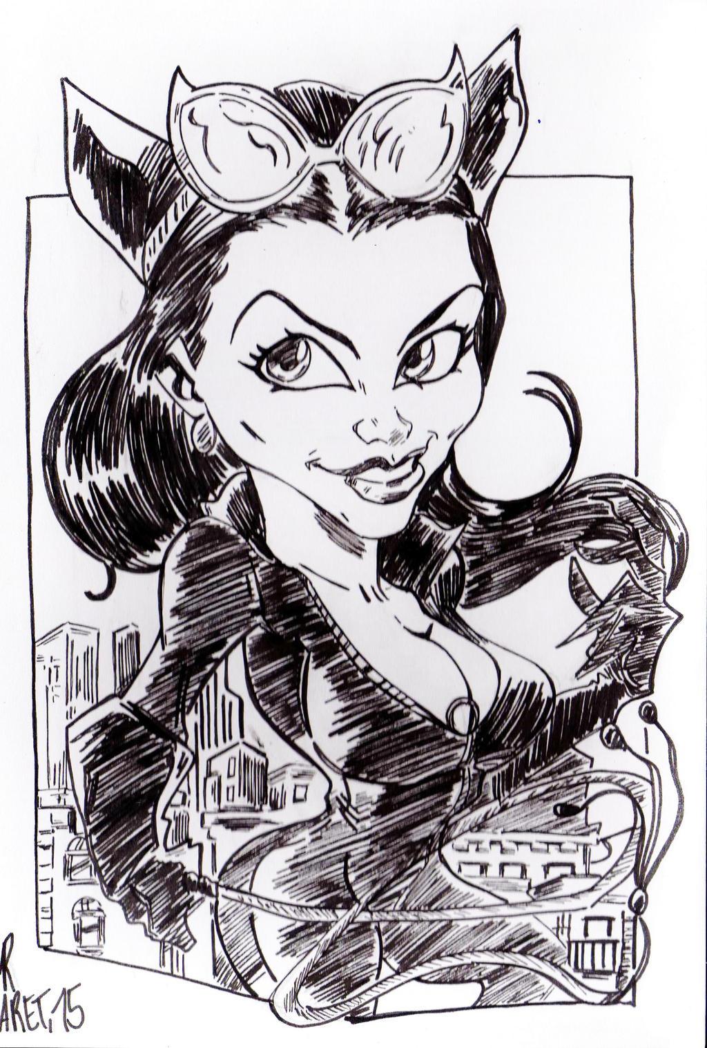 Catwoman Romi by jacksony22