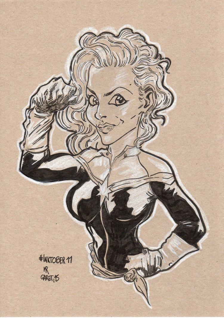 Captain Marvel by jacksony22